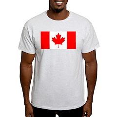 Candian Flag Light T-Shirt