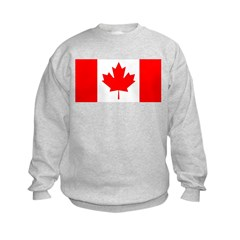 Candian Flag Kids Sweatshirt