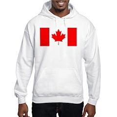 Candian Flag Hooded Sweatshirt