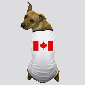 Candian Flag Dog T-Shirt