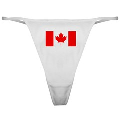 Candian Flag Classic Thong