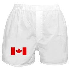 Candian Flag Boxer Shorts