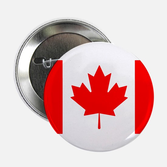 """Candian Flag 2.25"""" Button (100 pack)"""