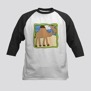 Wandering Camel with Green Border Kids Baseball Je