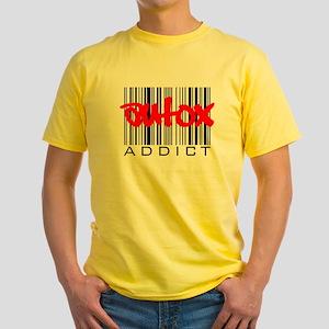 AutoX Addict Yellow T-Shirt