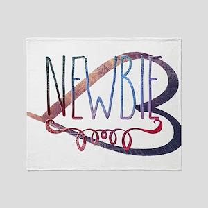 Newbie Throw Blanket