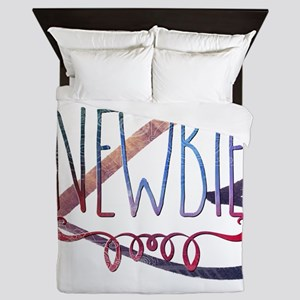 Newbie Queen Duvet