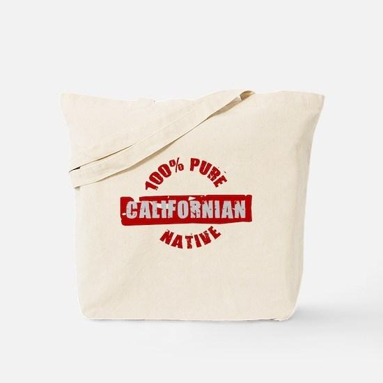CALIFORNIA SHIRT 100% CALIFOR Tote Bag