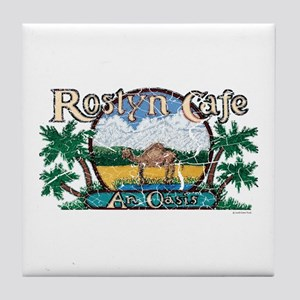 Roslyn Cafe Tile Coaster