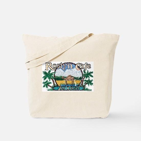 Roslyn Cafe Tote Bag