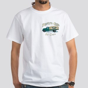 Roslyn Cafe White T-Shirt