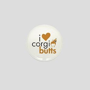 I Heart Corgi Butts - RWP Mini Button