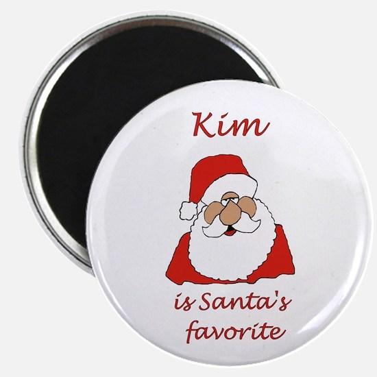"""Kim Christmas 2.25"""" Magnet (10 pack)"""