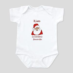 Kim Christmas Infant Bodysuit