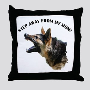 """BITE ME!"" Throw Pillow"