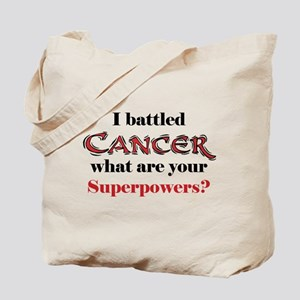 I Battled Cancer Tote Bag