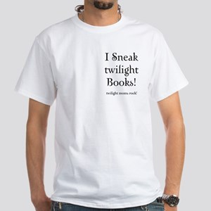 Twilight Moms Sneak Books White T-Shirt