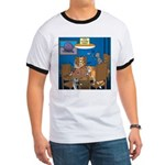Cards and Cats Ringer T