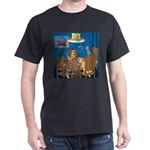 Cards and Cats Dark T-Shirt