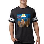 Cards and Cats Mens Football Shirt