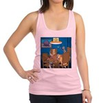 Cards and Cats Racerback Tank Top