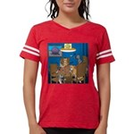 Cards and Cats Womens Football Shirt