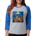 Cards and Cats Womens Baseball Tee