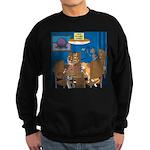 Cards and Cats Sweatshirt (dark)