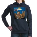 Cards and Cats Women's Hooded Sweatshirt