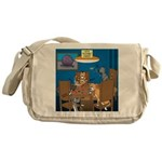 Cards and Cats Messenger Bag