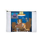 Cards and Cats Makeup Bag