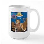 Cards and Cats 15 oz Ceramic Large Mug