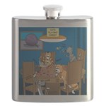 Cards and Cats Flask