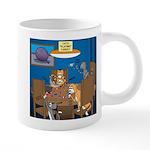 Cards and Cats 20 oz Ceramic Mega Mug