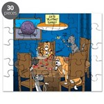 Cards and Cats Puzzle