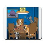 Cards and Cats Mousepad