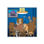 Cards and Cats Square Sticker 3