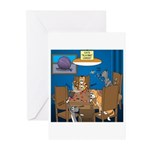 Cards and Cats Greeting Cards (Pk of 10)