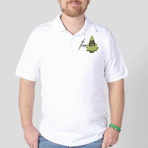 Needle or Flu Golf Shirt