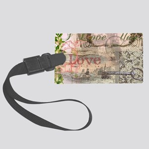 Wedding Gifts Vintage Wedding Fl Large Luggage Tag