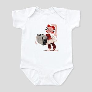 Toaster Girl Infant Bodysuit