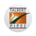 Talbert Pipes Ornament (Round)
