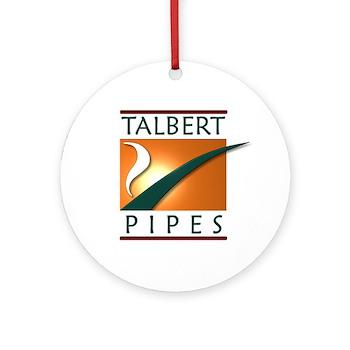 Talbert Pipes Ornament (Round)