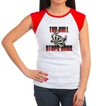 Bull Stops Here Women's Cap Sleeve T-Shirt