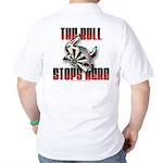 Bull Stops Here Golf Shirt