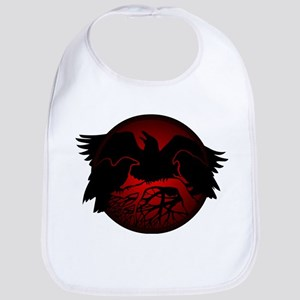 Raven Art Native Spirit Animal Baby Bib