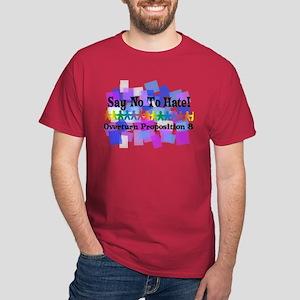 Say No To Hate Dark T-Shirt