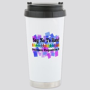 Say No To Hate Stainless Steel Travel Mug