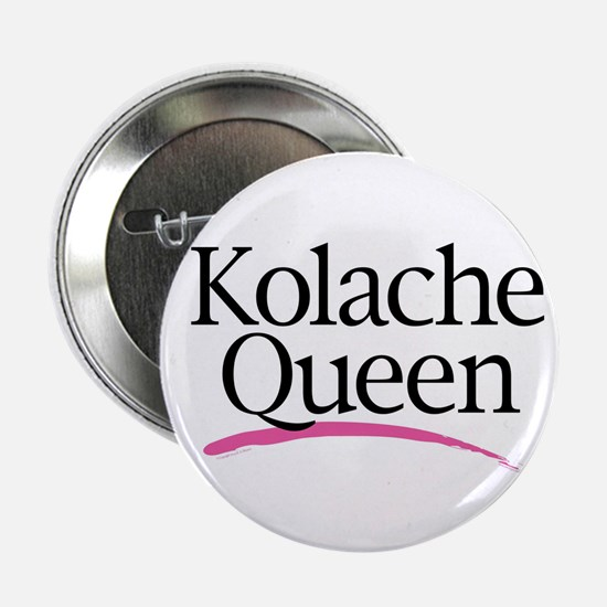 "Kolache Queen 2.25"" Button (10 pack)"