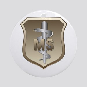 USAF Medical Services Keepsake (Round)